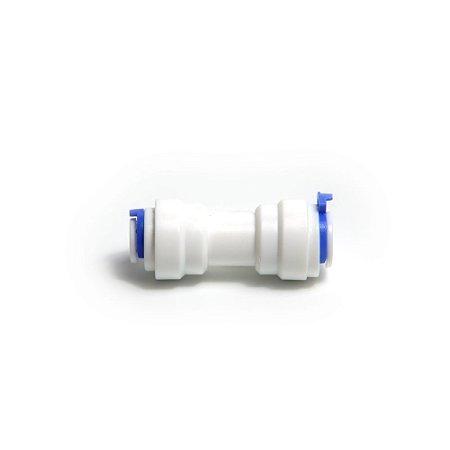 Redutor para tubo de água de 8mm para 1/4 pol branco