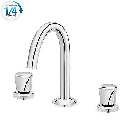 Misturador para lavatório de mesa bica alta Docol Street - 00589606
