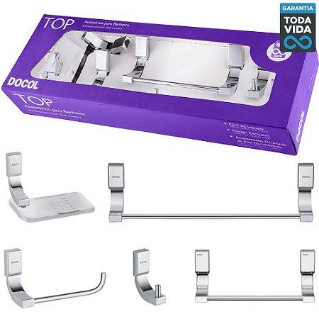 Kit de Acessórios para Banheiro Docol TOP - 00552906