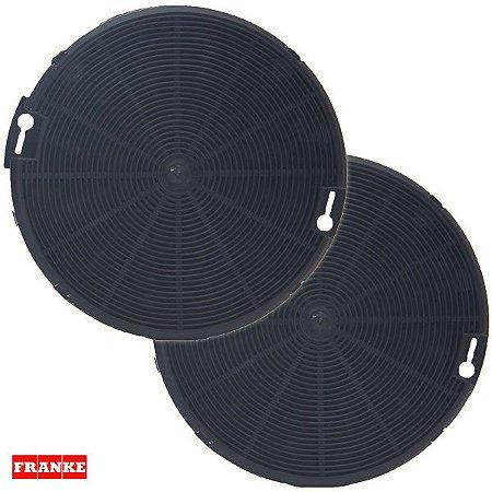 Kit com 2 Filtros de Carvão Ativado para Coifas Franke Cartesio - 12136