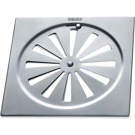 Ralo Rotativo Quadrado Franke em Aço Inox 15cm - 00529