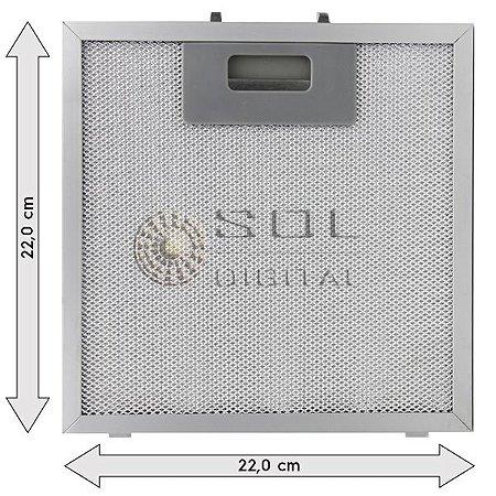 Filtro Metálico para Coifa Electrolux Home Pro 90BS