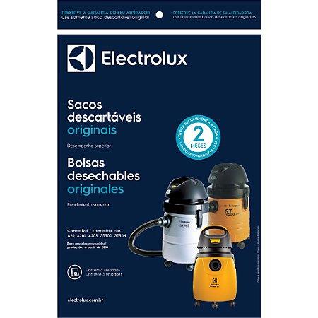 3 Sacos para Aspirador Electrolux A20, A20L, A20S, GT300 e GT30N (Produzidos a partir de 2010) - CSE20