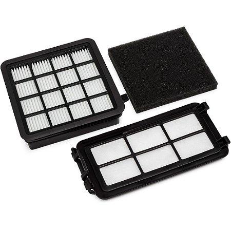 Kit de Filtros Electrolux Original para Aspiradores Easybox EASY1 e EASY2 - FEA01