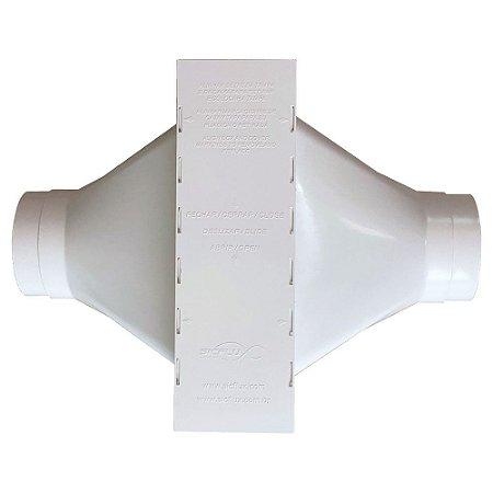 Caixa de Filtro de ar Sicflux Filbox Redonda 100mm