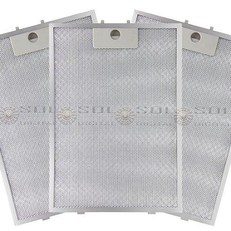 3 Filtros Metálicos para Depurador Electrolux Digital DE80T