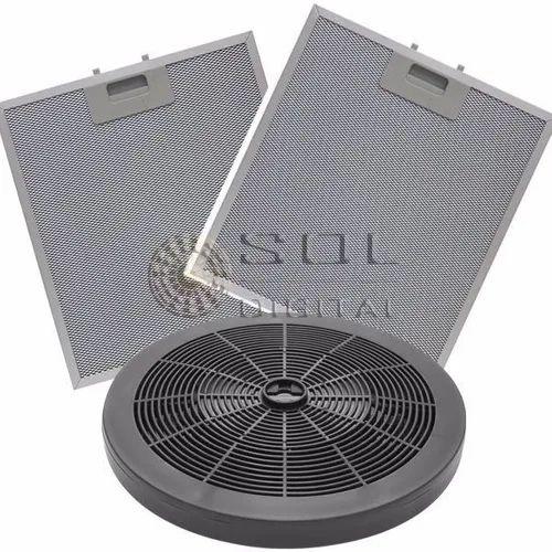 KIT Filtros Depuradores Electrolux 60cm (4 Bocas): Carvão e Metálicos