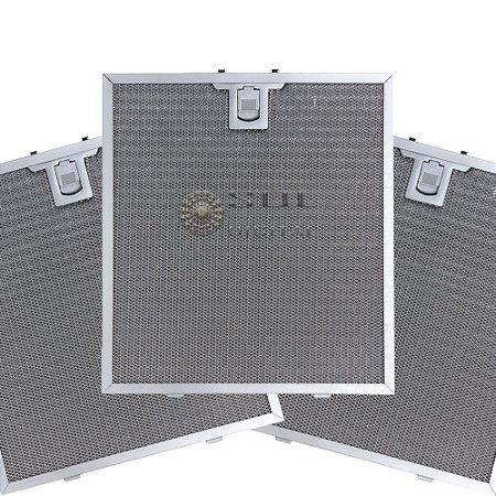 3 Filtros Metálicos para Coifa Electrolux Home Pro 90FS