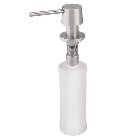 Dosador de sabao redondo em aço escovado Franke - 13318