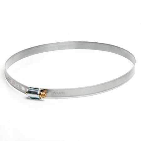 Abraçadeira Rosca Sem Fim em aço carbono - 191mm a 210mm