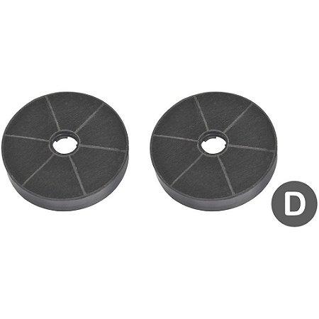 2 Filtros de Carvão Ativado para Coifas Tramontina importadas - Modelo D