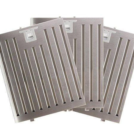 3 Filtros Metálicos para Coifa Electrolux Home Pro 90CTU