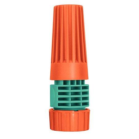 Esguicho com Engate Rosqueado e Jato Regulável em Plástico Tramontina - 78514000