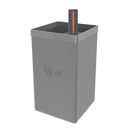 Vaso Autoirrigável Tramontina em Polipropileno Cinza 800 ml - 78130065