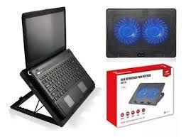 Base Para Notebook Refrigeração 15,6 Nbc-50bk C3 Tech Cor Preto, Cor do LED Azul