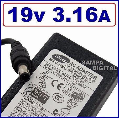 Fonte Carregador Notebook Samsung 19V