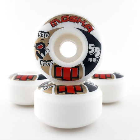 Roda Moska Rock 55mm White