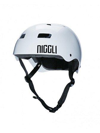 Capacete Niggli Iron Light Branco