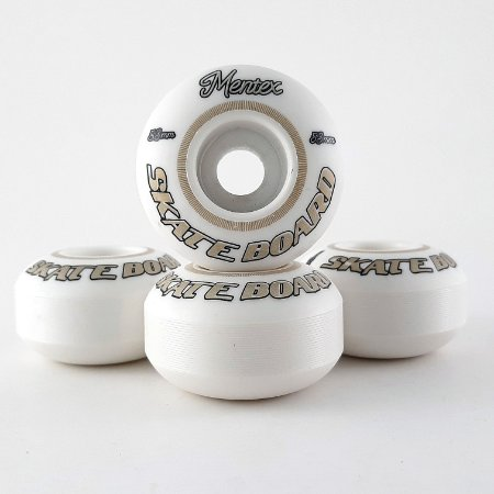 Roda Mentex Golden White 53mm