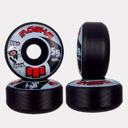 Roda Moska Rock 55mm Black