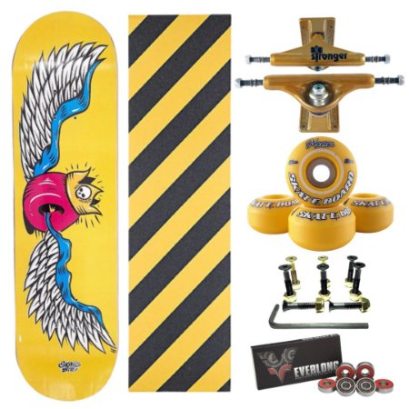 Skate Completo Amador Yellow