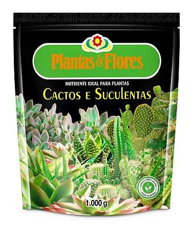Fertilizante cactos e suculentas - 1 kg - bonigo