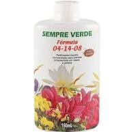 Fertilizante liquido concentrato plantas ornamentais -   04-14-08 160 ml