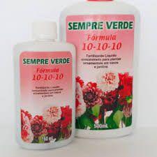 Fertilizante liquido concentrato plantas ornamentais -   10-10-10 - 500ml