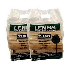 Lenha churrasqueira - thor - 5 kg