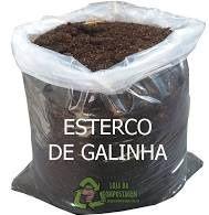 ESTERCO DE GALINHA - 15 LTS