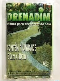 Manta para drenagem - Drenadim - 1 Manta 30X30