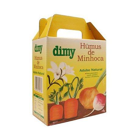 HUMUS DE MINHOCA - FERTILIZANTE ORGÂNICO -  DIMY - 1 KG
