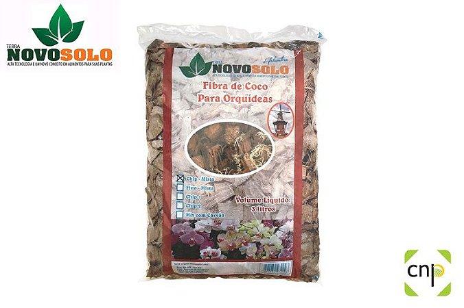Fibra de coco para orquideas - 3 litros