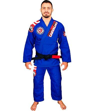 TEAM CARVALHO - Kimono BJJ azul