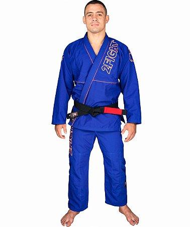 Kimono BJJ - linha RIP STOP cor Azul