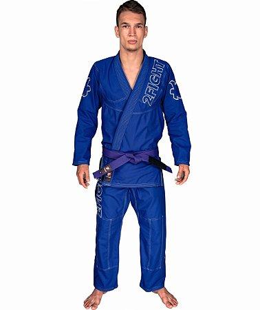 Kimono BJJ - linha SLIM Rip Stop cor Azul