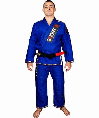 Kimono BJJ - linha SUPER cor Azul