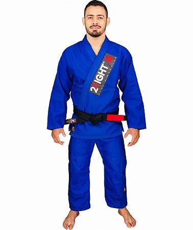 Kimono BJJ - linha TRADICIONAL cor Azul