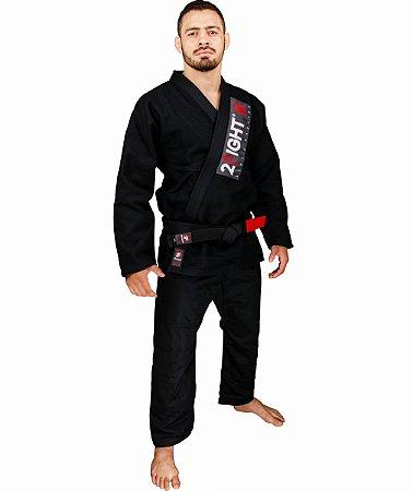 Kimono BJJ - linha TRADICIONAL cor Preto