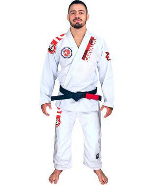 TEAM CARVALHO - Kimono BJJ branco