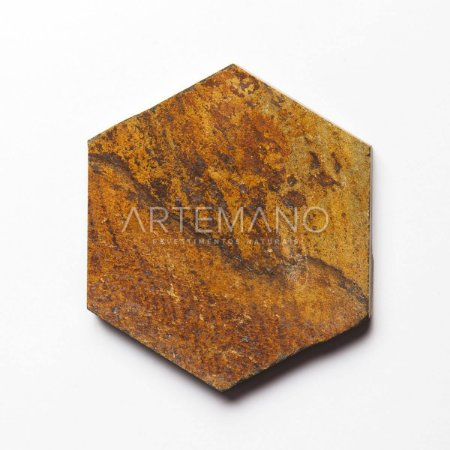 PEDRA FERRO HEXAGON M² | 10x10 | 15x15 | 20x20