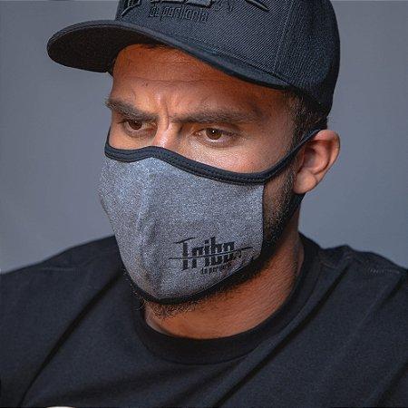 Máscara Tribo da Periferia Cinza