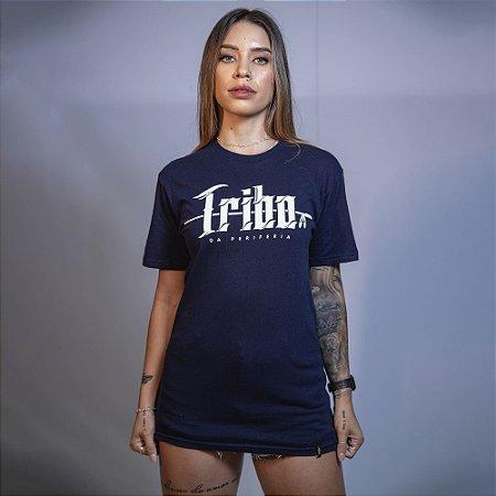 Camiseta Tribo da Periferia Azul