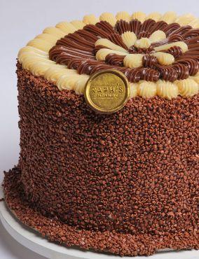 Torta de Brigadeiro Belga