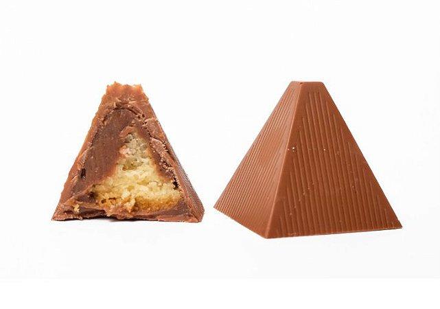 10  Pirâmides de Palha Italiana Preta