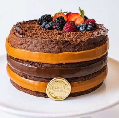 Naked Cake Fit chocolate