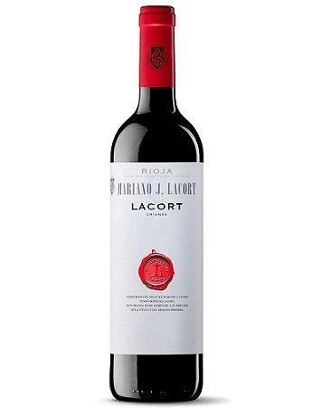 Mariano J. Lacort Rioja Crianza 2012