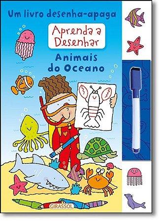 Aprenda a desenhar - Animais do Oceano