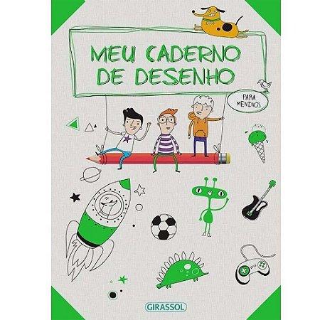 Meu Caderno De Desenhos - Para Meninos - Ballon Midia