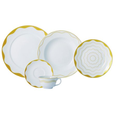 Aparelho de Jantar e Chá 20 peças - Brasilis - Porcelana Schmidt